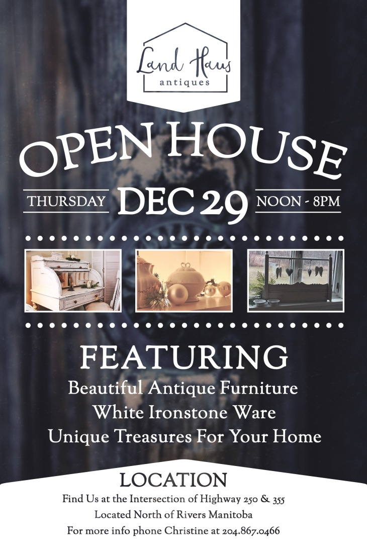 Public Open House Poster - Created by Jessica Raupers