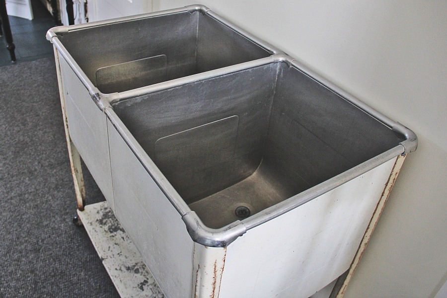 Sold: Double Soaker Sink