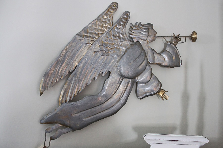For Sale: Galvanized Angel