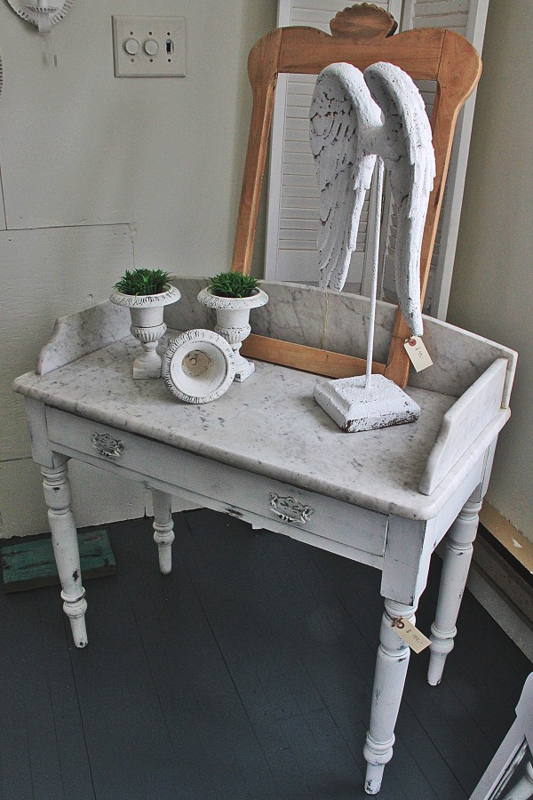 For Sale: Vanity with Marble Top