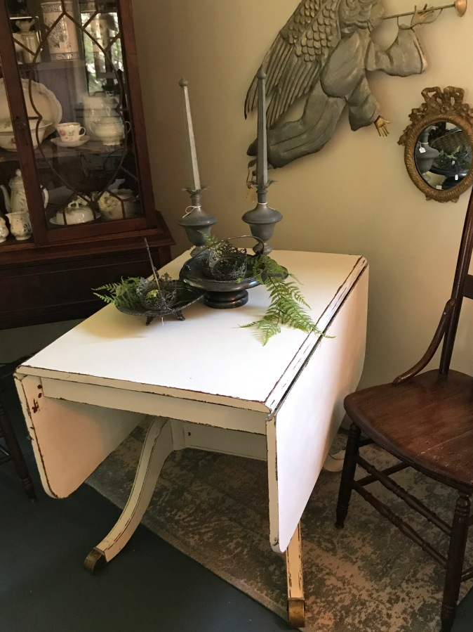 For Sale: Elegant Drop Leaf Table