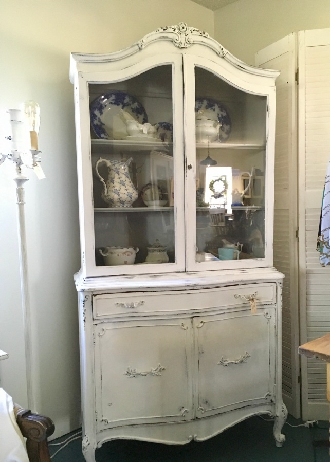 For Sale: French Provincial Style China Cabinet