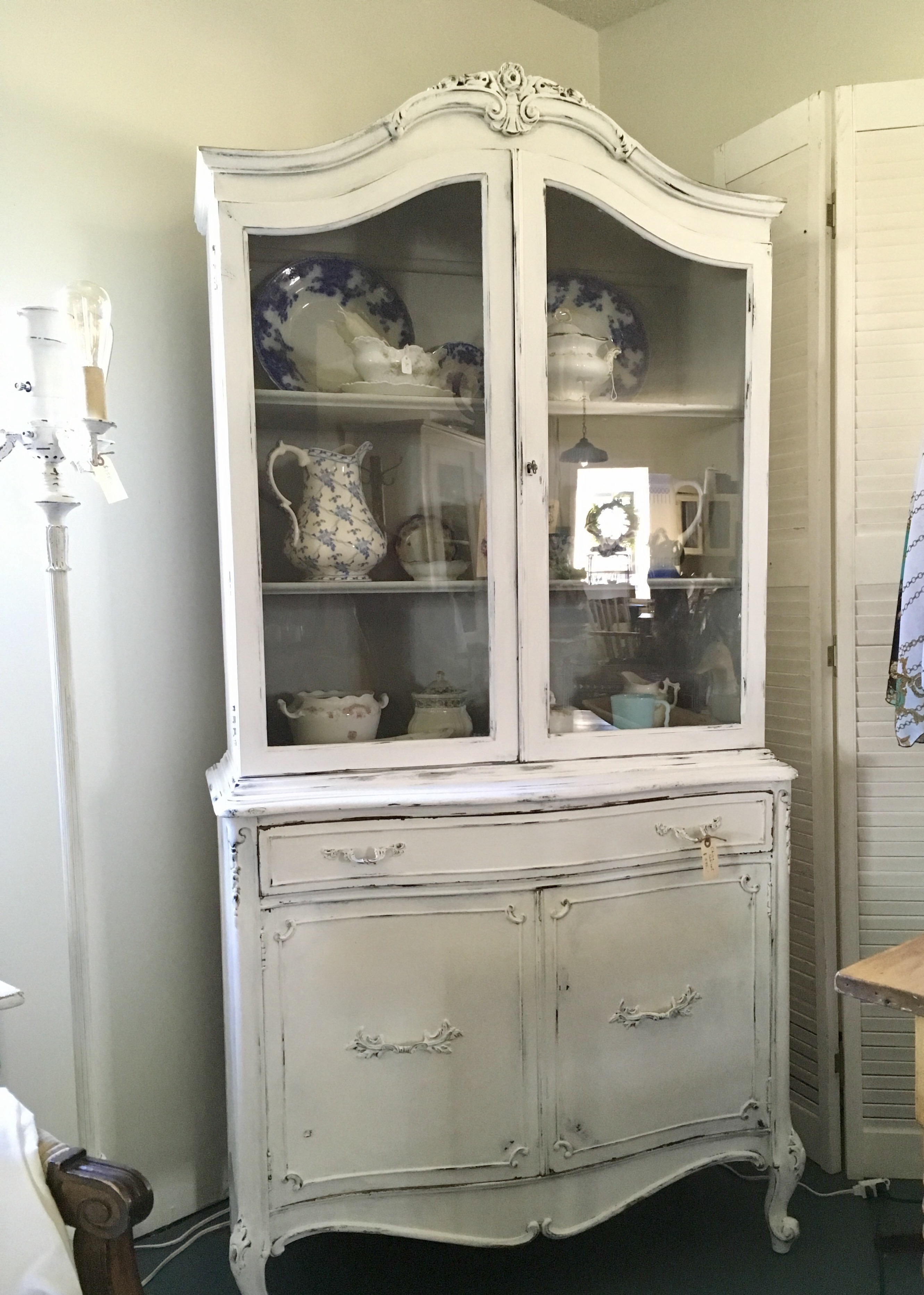 Great For Sale: French Provincial Style China Cabinet