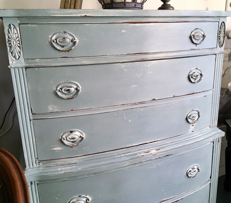For Sale: Vintage Highboy Dresser
