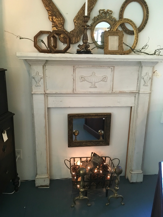 For Sale: Antique Fireplace Mantle